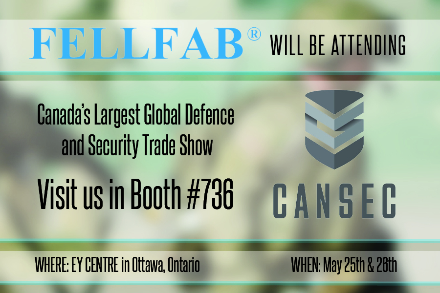 CANSEC - FELLFAB promotion graphic
