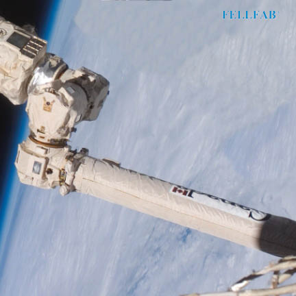Textile Material FELLFAB<sup>®</sup> manfactured on the CANADARM