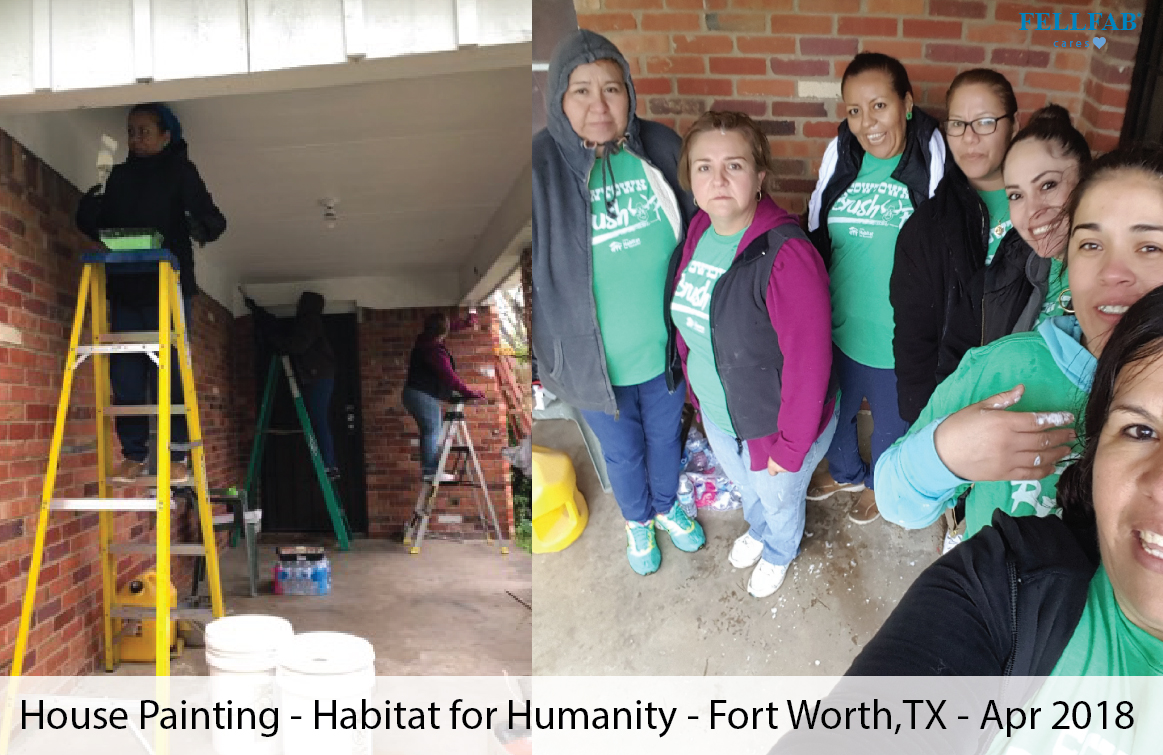 House Painting - Habitat for Humanity - Fort Worth,TX - Apr 2018-01