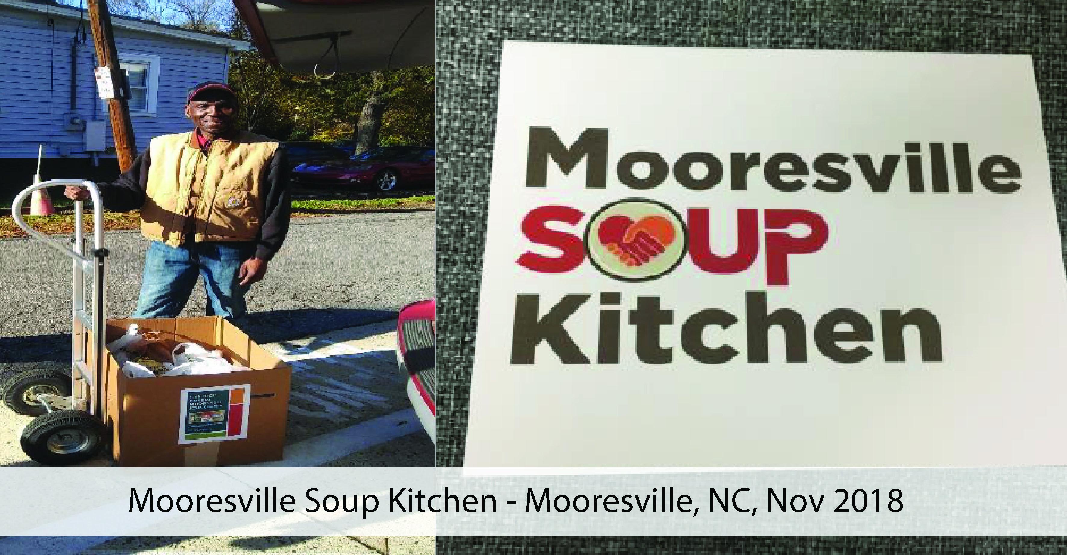 Mooresville Soup Kitchen 2018