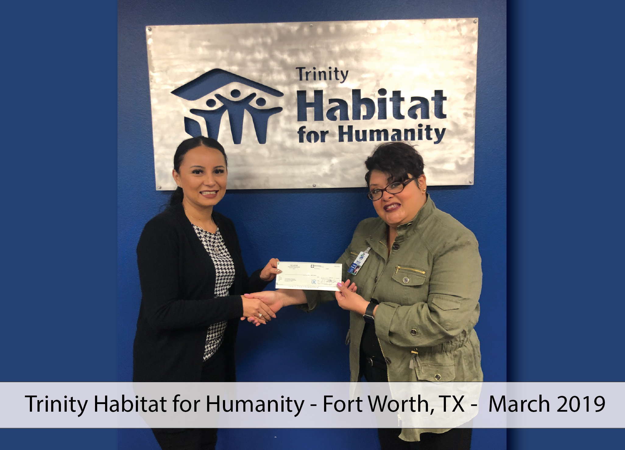 Trinity Habitat for Humanity Donation FFC March 2019-01