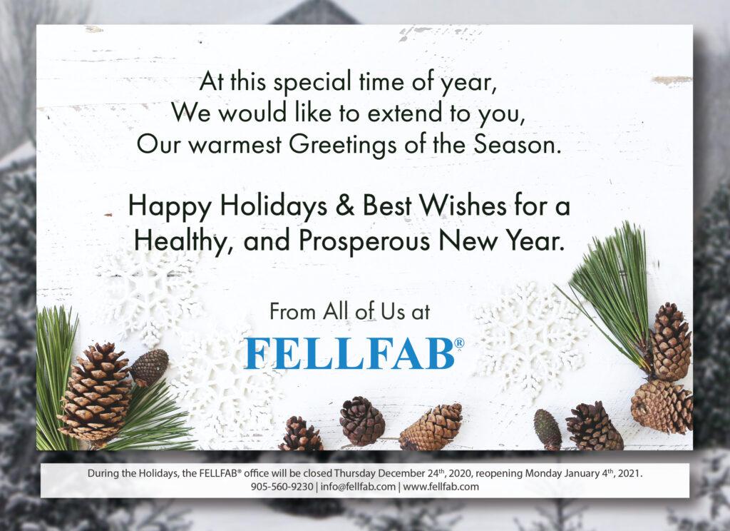 FELLFAB Holiday Card 2020